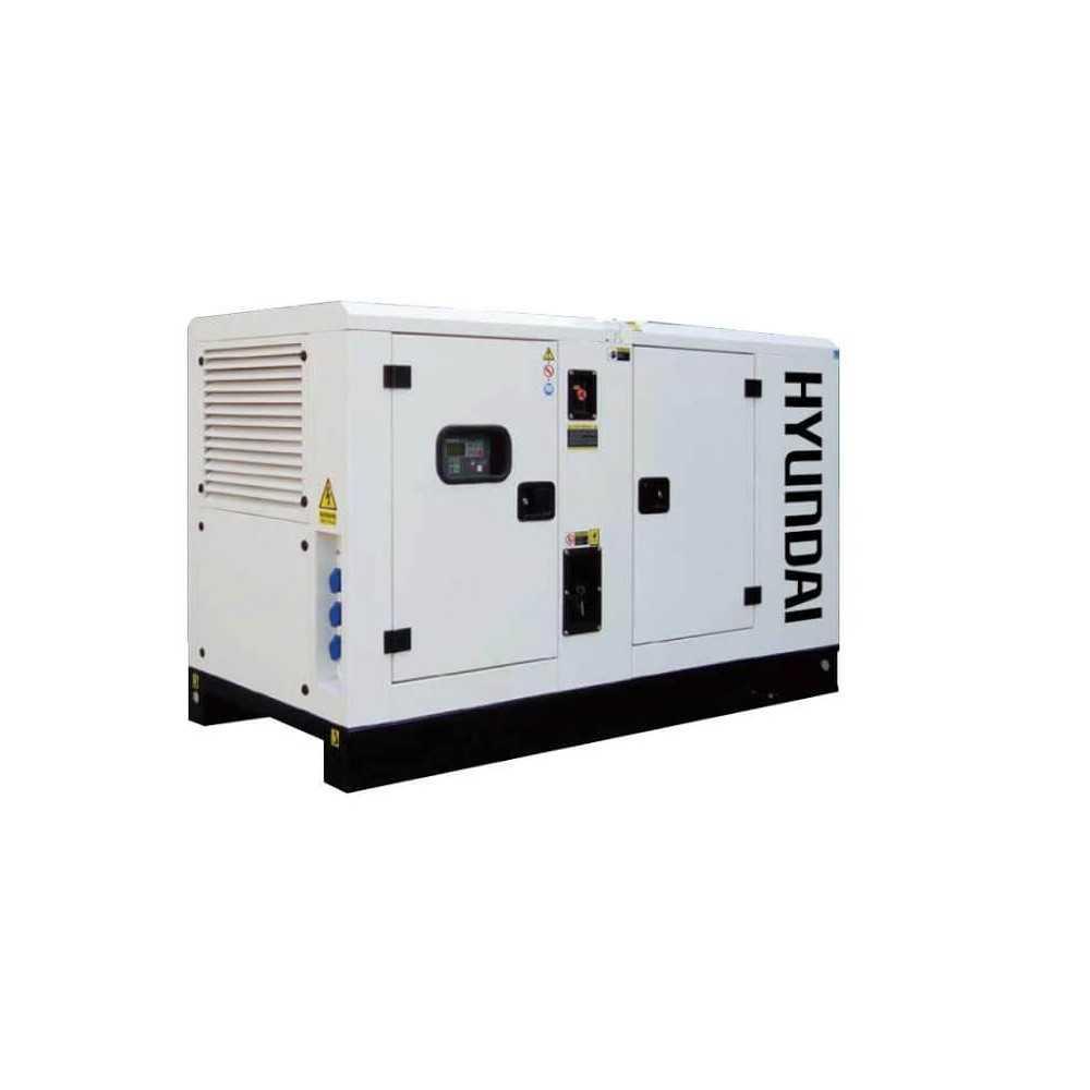 GENERADOR 22 Kva Industrial 380 volts Insonorizado HYUNDAI 78DCS22KSE