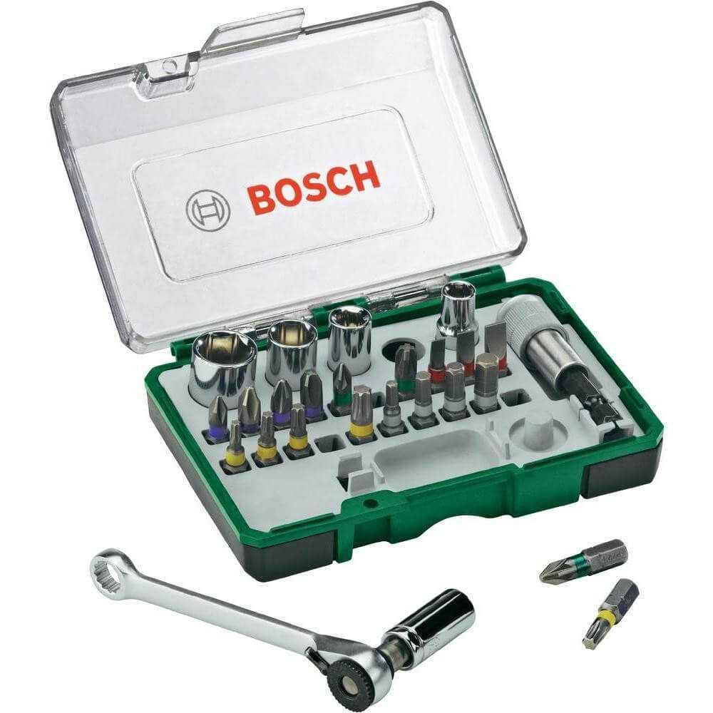 Set PROMOLINE x 27 Piezas MINI RATCHET Bosch 2607017160