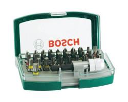 Set de puntas hexagonales de 32 piezas con adaptador Bosch 2607017063
