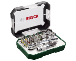 Set 26 piezas RATCHET Bosch 2607017322