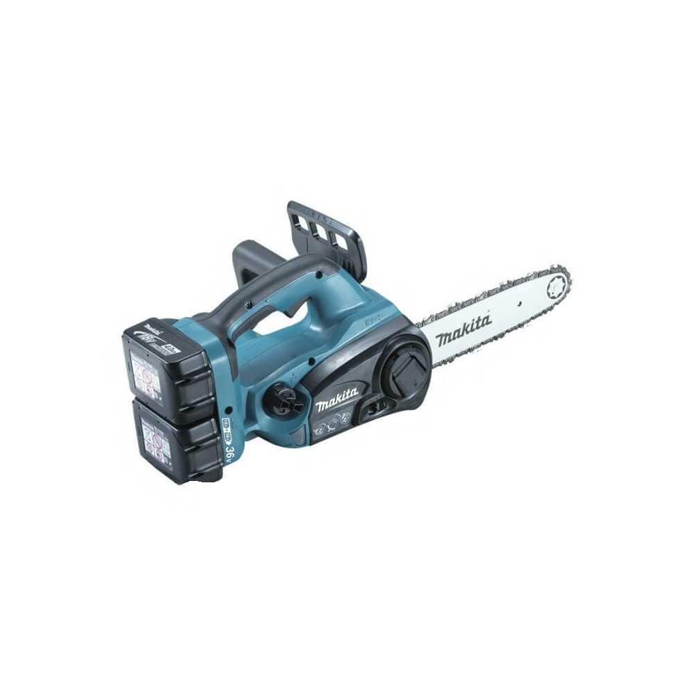 """Electrosierra 10"""" (2 baterías+ cargador DC18RC) Makita DUC252RF2"""