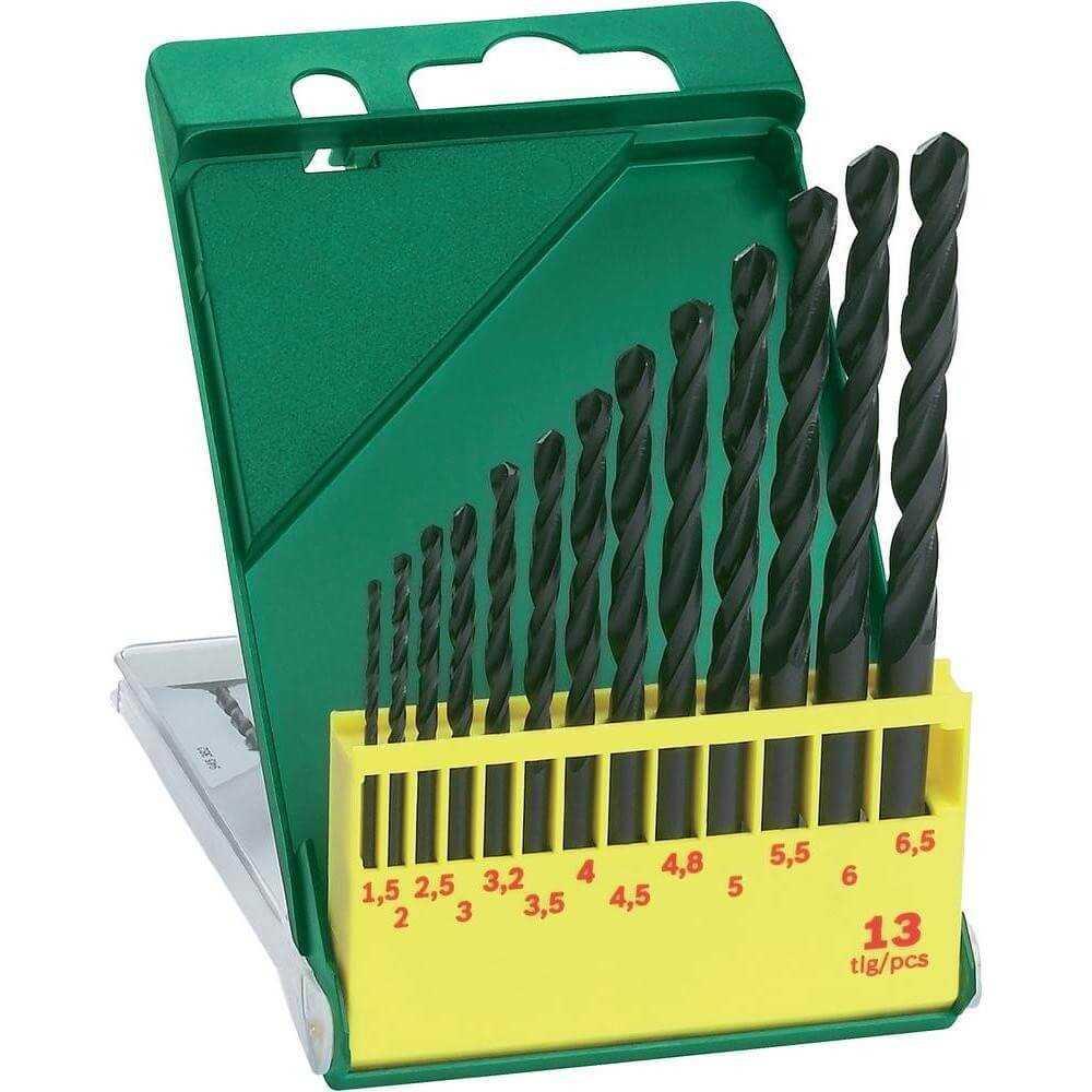 Set 13 Brocas para Metal HSS-R Bosch 2607019441