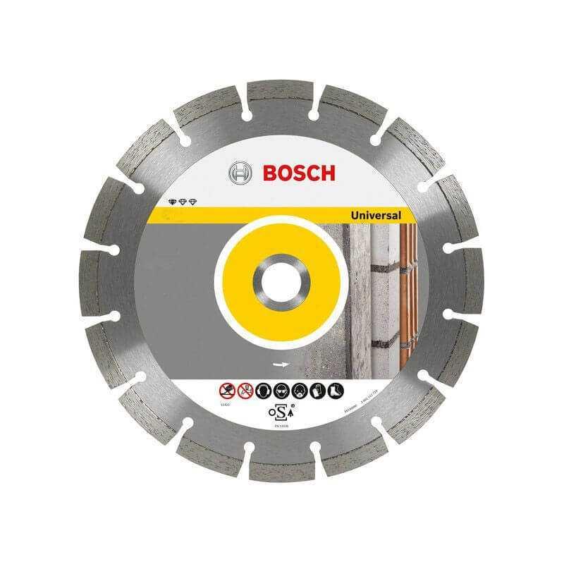 "Disco Diamantado Segmentado Universal 9"" Bosch 2608602195"