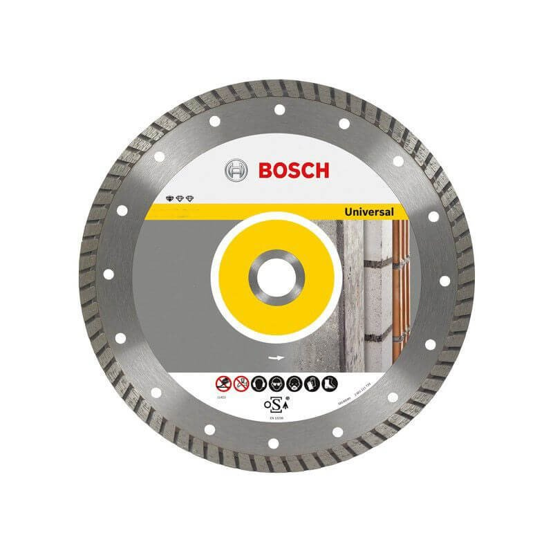"Disco Diamantado Universal Turbo 7"" Bosch 2608602396"
