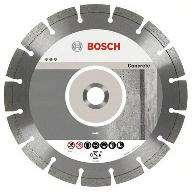 """Disco Diamantado Segmentado Concreto 4 1/2"""" Bosch 2608602196"""