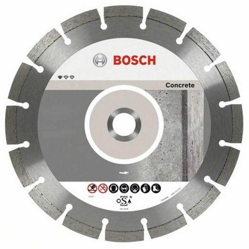 """Disco Diamantado Segmentado Concreto 7"""" Bosch 2608602199"""