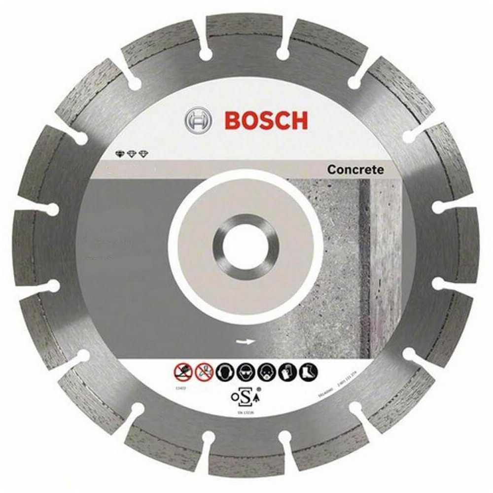 """Disco Diamantado Segmentado Concreto 9"""" Bosch 2608602200"""
