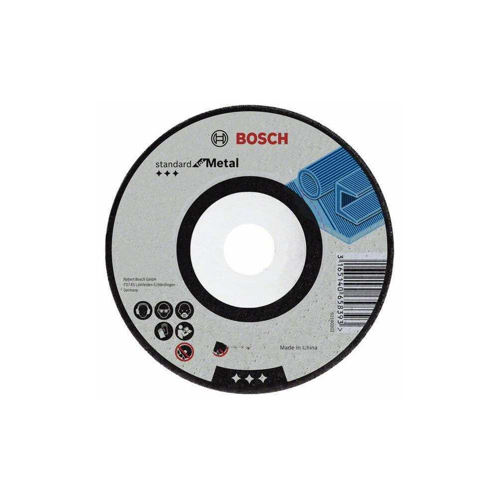 """Disco Desbaste 4 1/2""""x7/8"""" G24 Bosch 2608603181"""