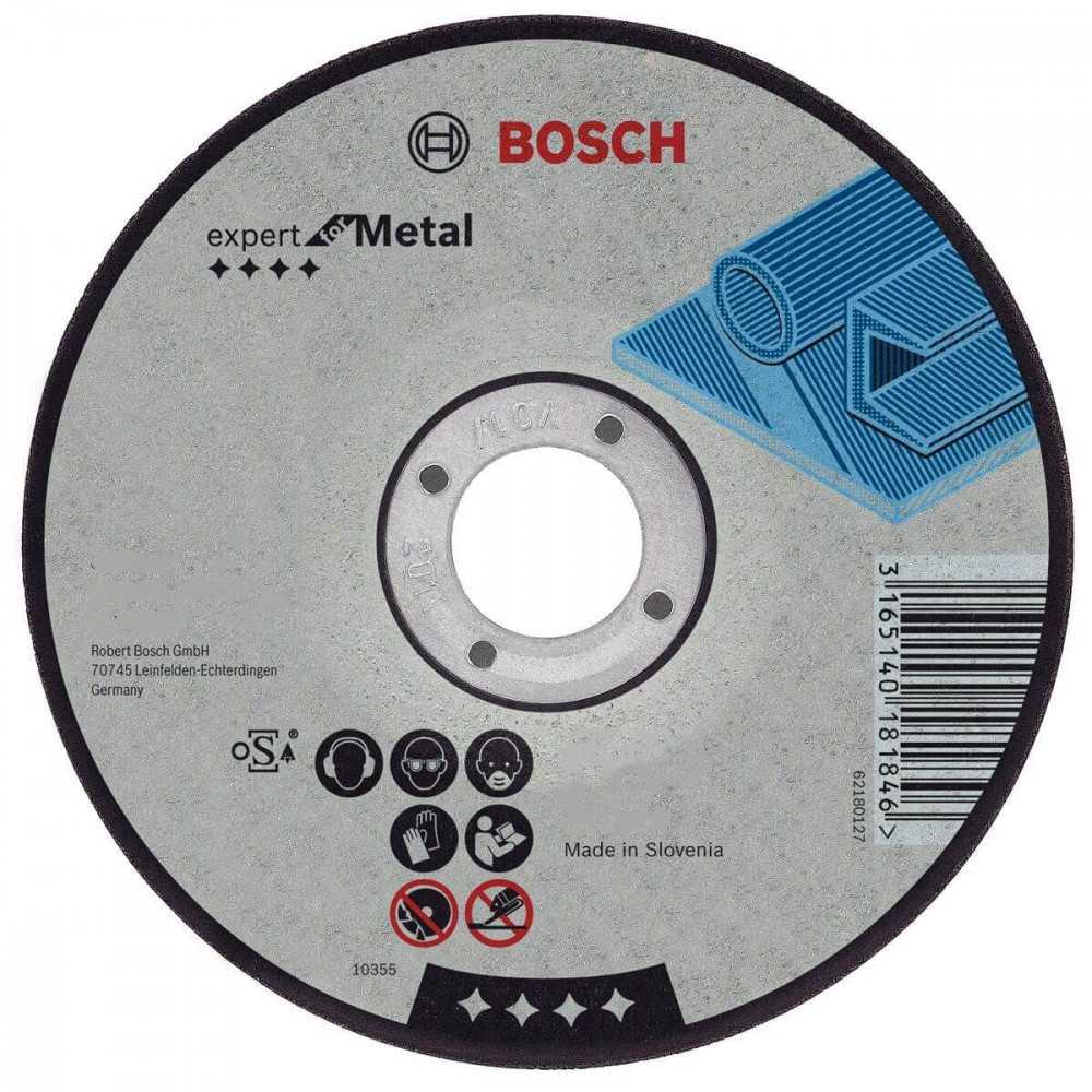"Disco Corte Centro Deprimido 7""x7/8"" G30 Bosch 2608600316"