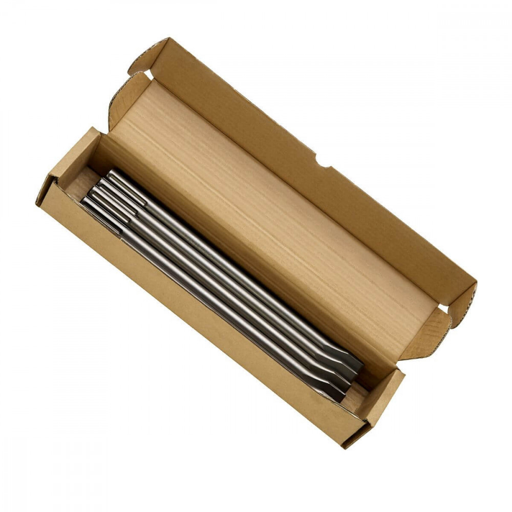 Cincel SDS-MAX Plano (Caja 10 Unid) Bosch 2608690125