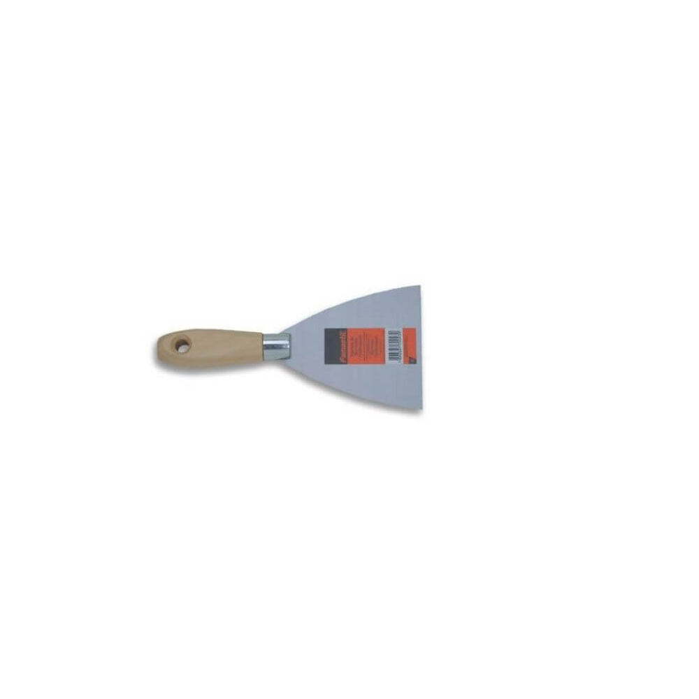 Espátula de Acero Mango de Madera Modelo Económico 8 cm Famastil HKDH-012
