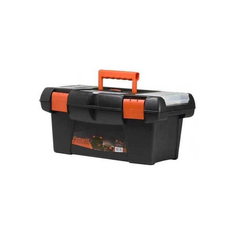 "Caja Plástica para Herramientas 14"" Famastil HKDP-001"