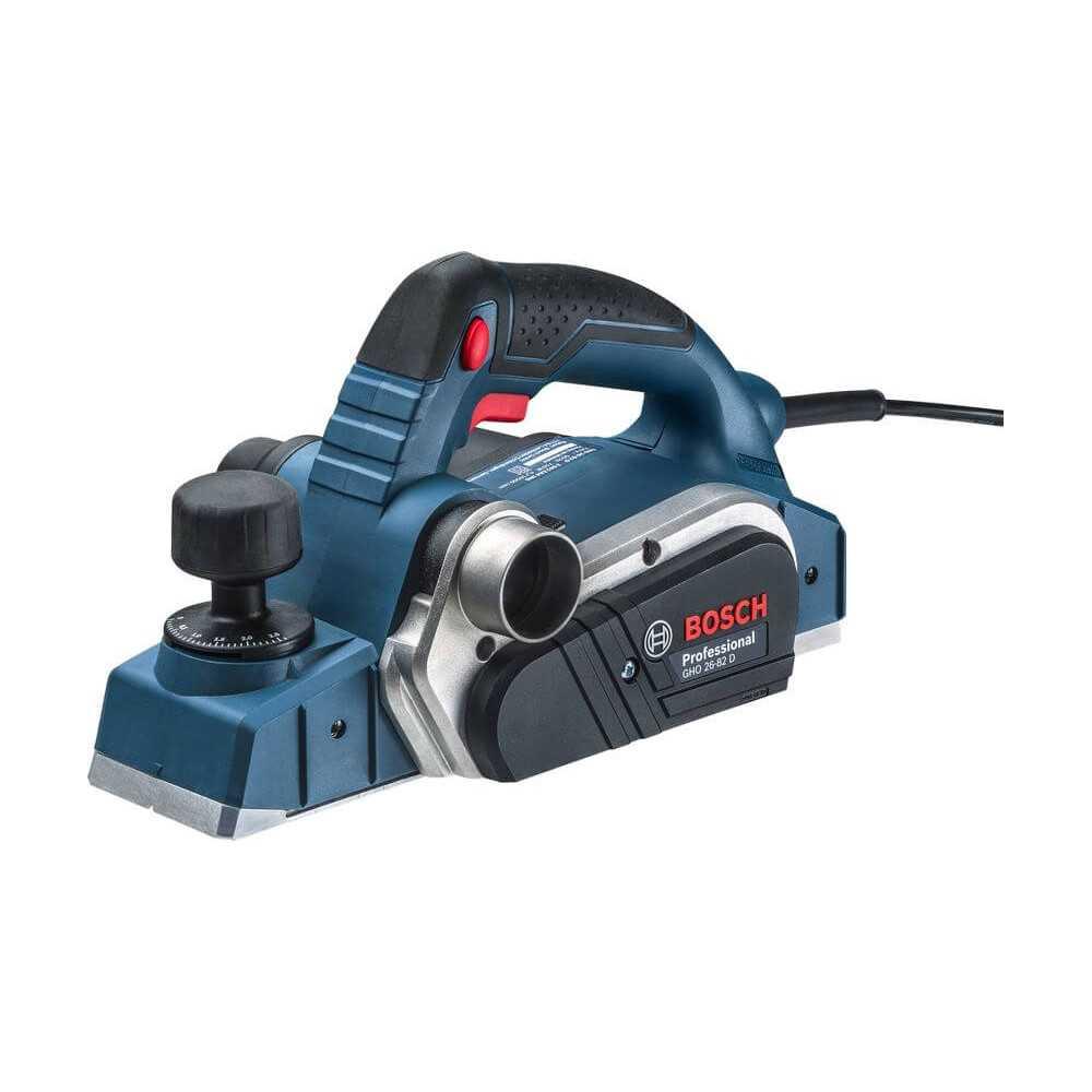 Cepillo 82 mm 710W 16500 rpm 2,6 kg Bosch GHO 26-82