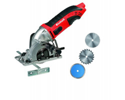 Mini Sierra Circular Kit 450 W Einhell TC-CS 860-1