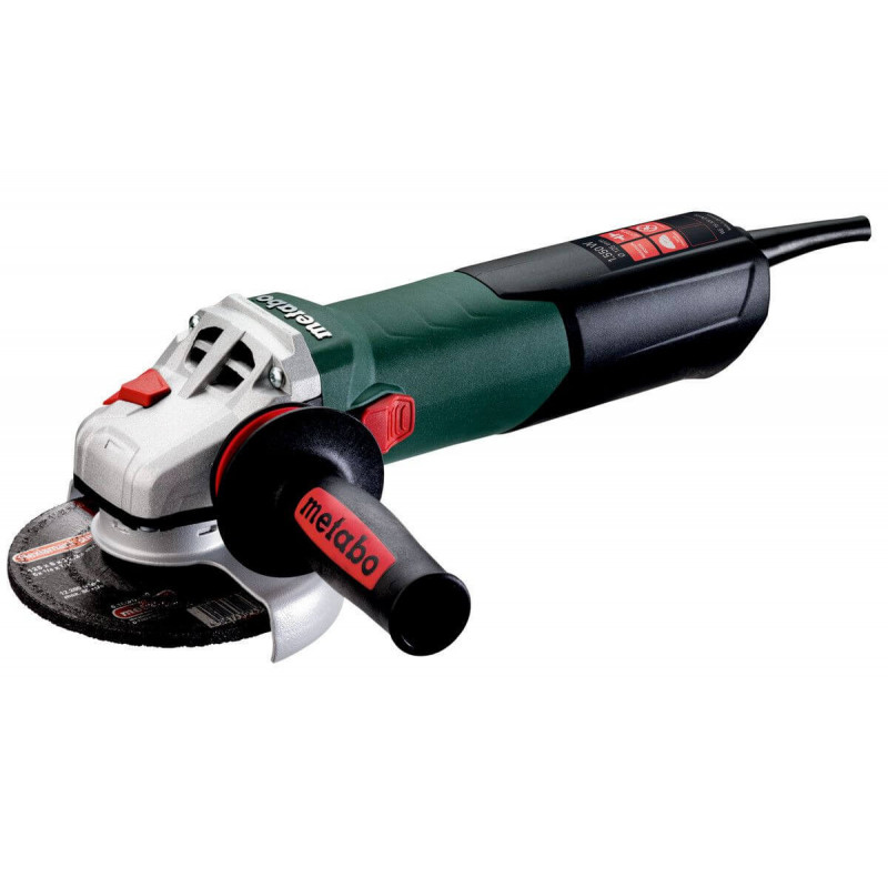 "Esmeril Angular 4 1/2""- 5"". 1.550W. 11.000 r.p.m. Metabo WE 15-125 QUICK"