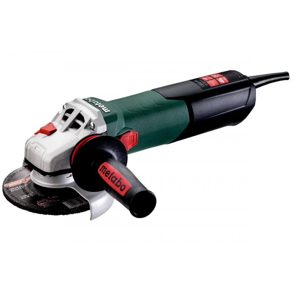 "Esmeril Angular 4 1/2""- 5"". 1.550W. 11.000 r.p.m. Velocidad variable.Metabo WE 15-125 QUICK VV"