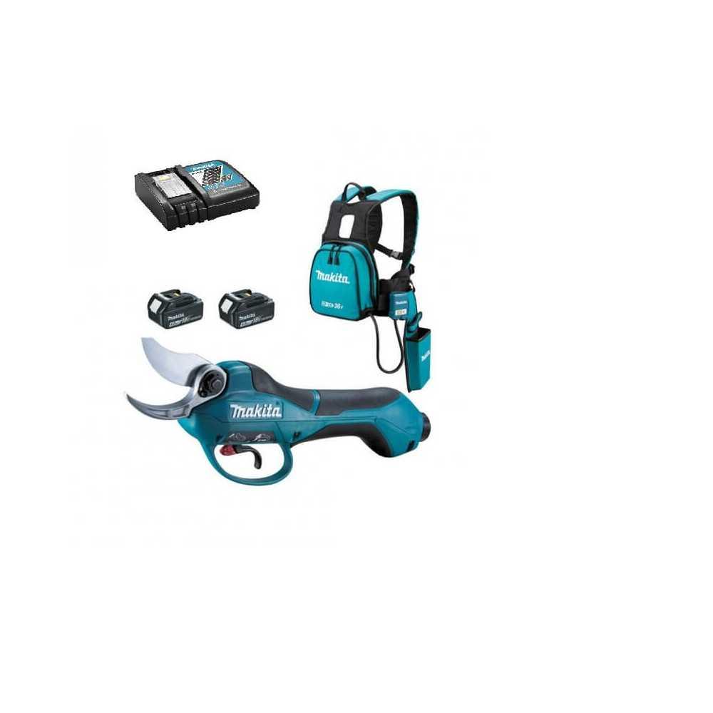 Tijera Podadora (2 baterías + cargador) Makita DUP361RM2