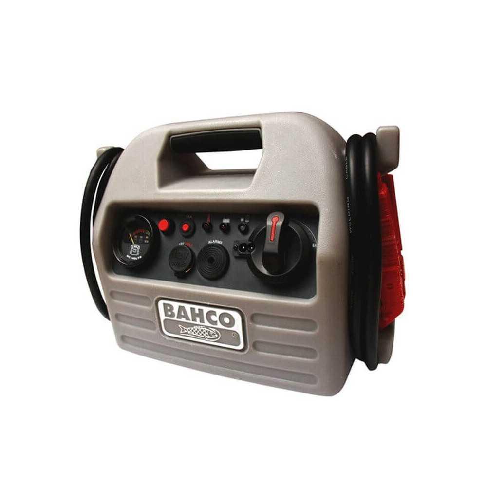 Arrancador de Batería Booster bateria Litio 12V 800 CA Bahco BBL12-800