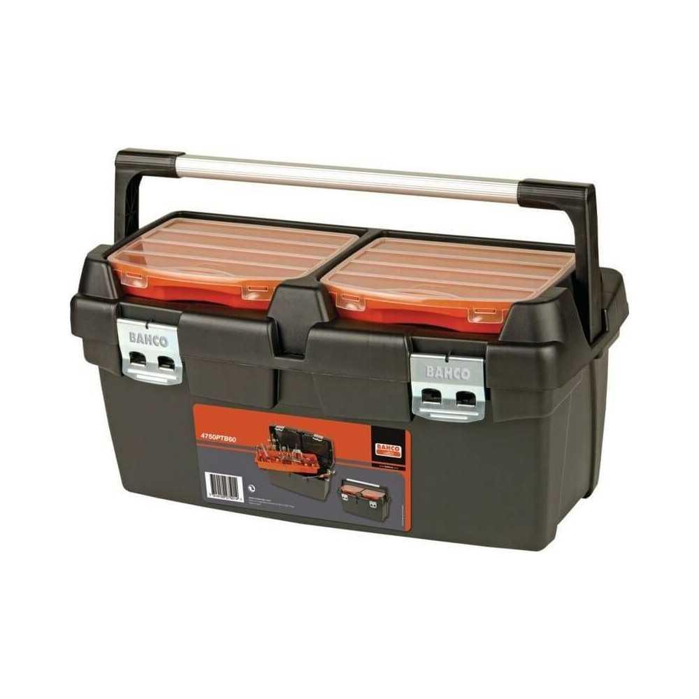 Caja Plástica con Asa 600x305x295mm Bahco 4750PTB60