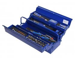Carro Porta herramientas Caja Metálica con Herramientas - 94 PIEZAS Irimo IRIMO-BOX-94