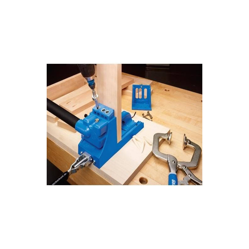 Sistema maestro de guías de perforación K4 Kreg K4MS