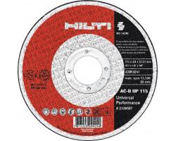 Disco de Corte Metal 115x3.0 mm Hilti AC-D UP