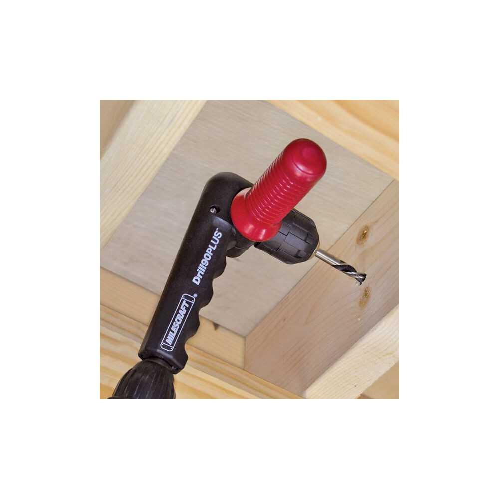 Accesorio de perforación en ángulo Drill90PLUS Milescraft 1304