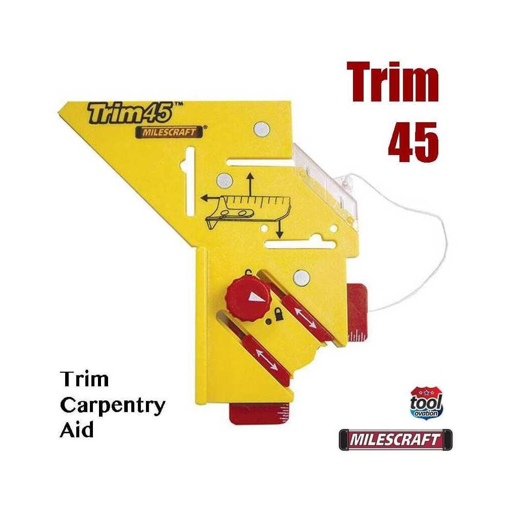 Herramienta de Medición y Trazado Trim45 Milescraft 8401