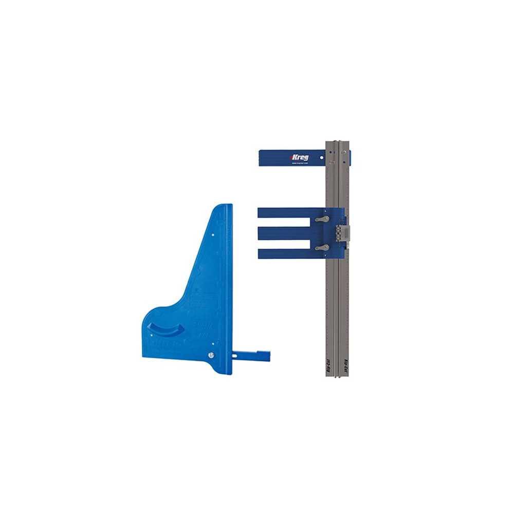 Kit Carpintería Guía de corte al hilo y corte transversal. Kreg Kit 2