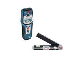 Detector de materiales Bosch GMS 120 + Medidor de Ángulos Skil 580
