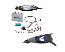 Rectificador Multipro 3000 + Eje Flexible + 18 Accesorios Dremel + Grabador Dremel 290