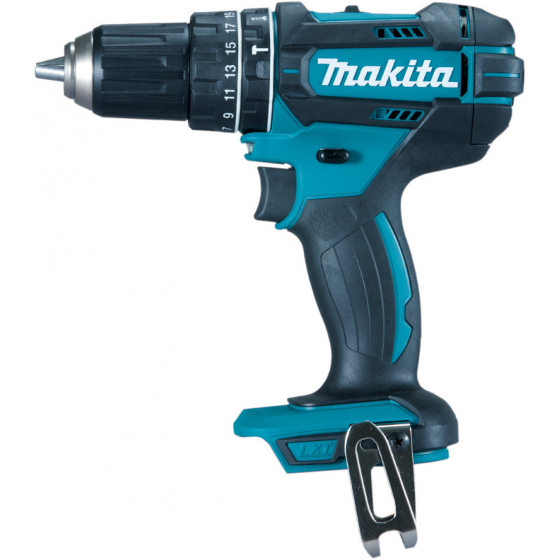 Taladro Atornillador Percutor Inalámbrico 13 mm - 2 vel variable (max Torque 62 Nm) 1,8 kg Makita DHP482Z