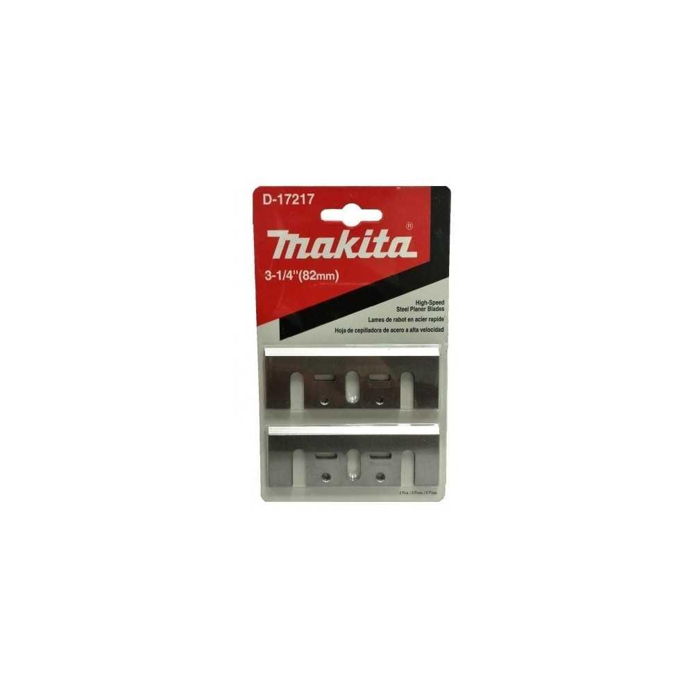 Cuchillo para cepillo 82 mm acero Makita HSS1902