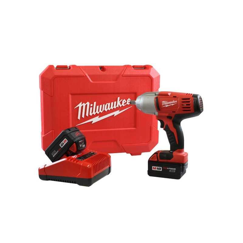 "Llave de Impacto con Batería 1/2"" 2 BAT. Milwaukee 2663-259"