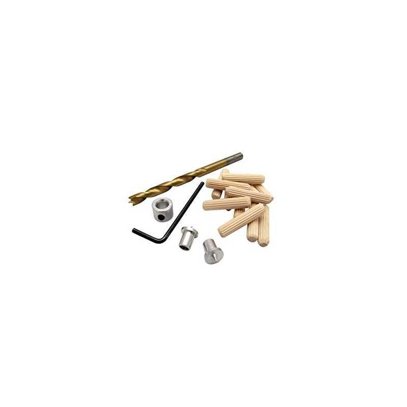 Kit tarugos y broca de 1/4 pulgadas Fitzroy 53370703