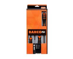 Juego de Destornilladores para tornillos Phillips® y ranurados 4 piezas Bahco B219.004
