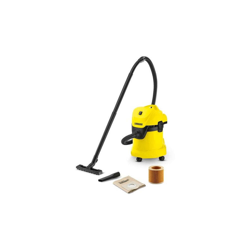 Aspiradora Polvo y Agua 1400 W Karcher WD3-17lts