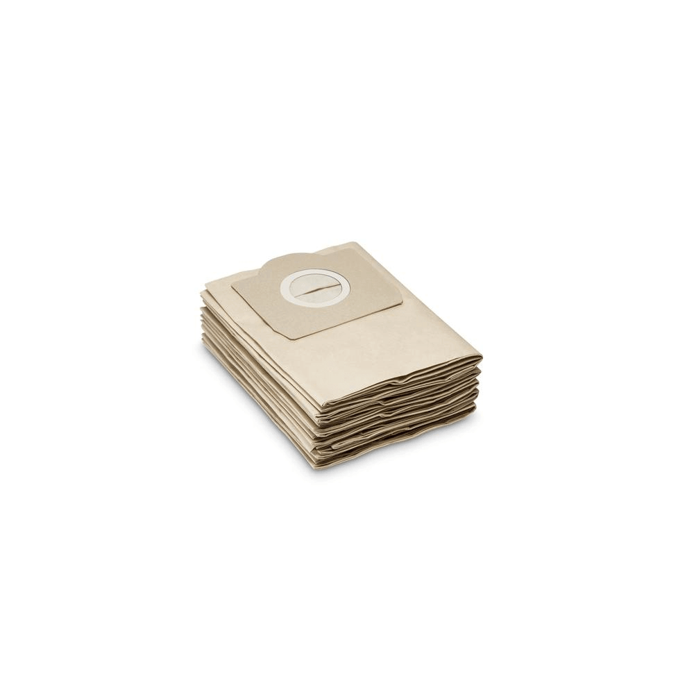 Pack 5 Bolsas Repuesto Aspiradoras Polvo y Agua Karcher WD3 / MV3 / SE4001