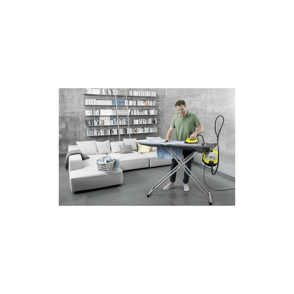Centro de Planchado a Vapor Plancha + Tabla Planchado Karcher SC5