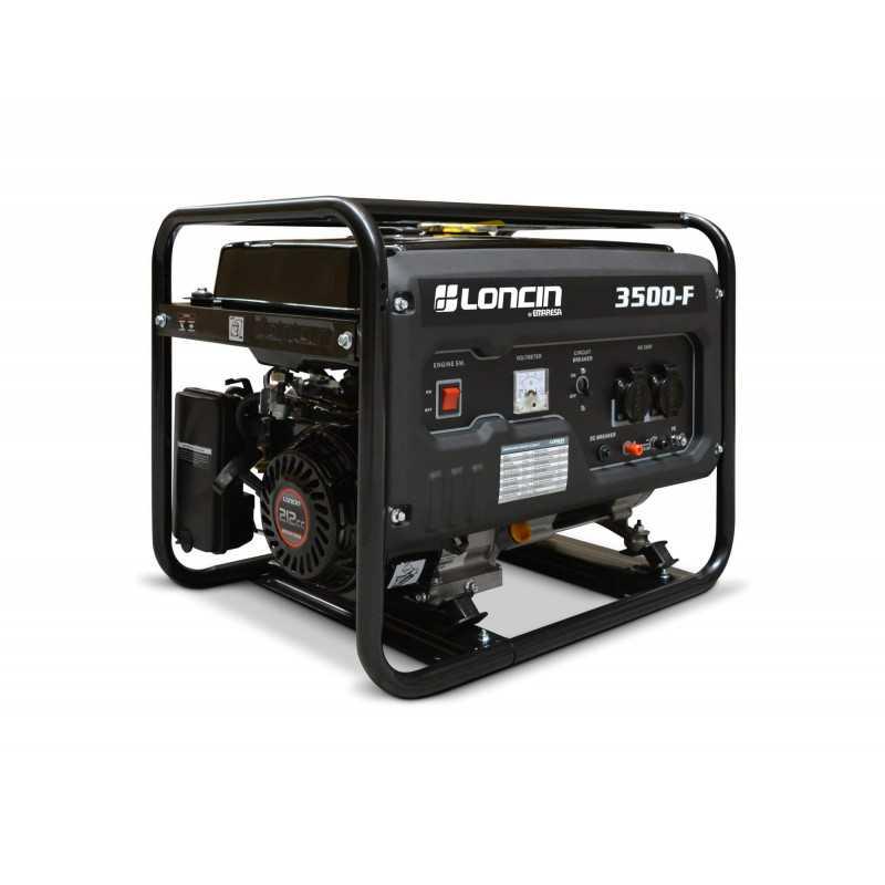 Generador Eléctrico Gasolina de 3,1 Kva Loncin LC3500F