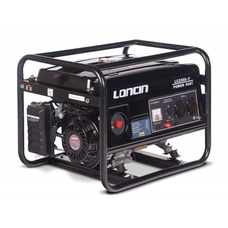 Generador Gasolina de 2,2 Kva Loncin LC2500F