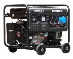 Generador Gasolina de 7 Kva Loncin LC8000DF