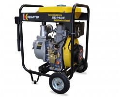 """Motobomba de alta 2""""x2"""" presión Diesel Partida Manual Krafter SDP50F Alta Presión"""