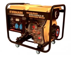 Generador Diesel de 3,5 Kva 220V Partida Eléctrica Krafter KRD3500EA-M