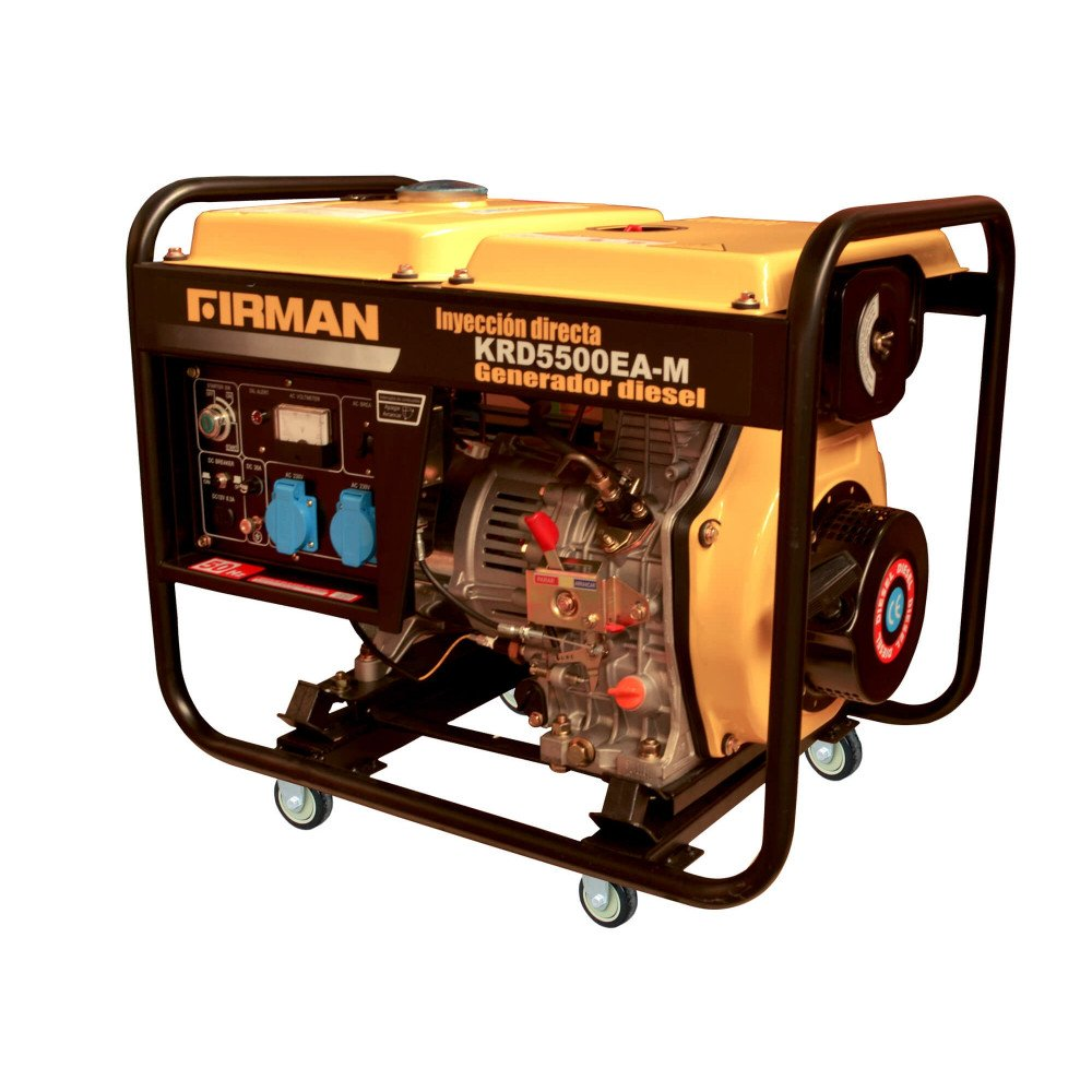 Generador Eléctrico Diesel de 5 Kva 220V Partida Eléctrica Krafter KRD5500EA-M