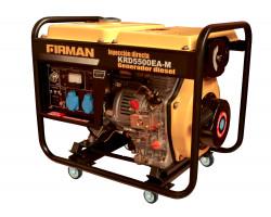 Generador Diesel de 5 Kva 220V Partida Eléctrica Krafter KRD5500EA-M