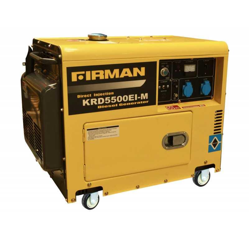 Generador Diesel de 5 Kva 220V Partida Eléctrica Krafter KRD5500EI-M ATS