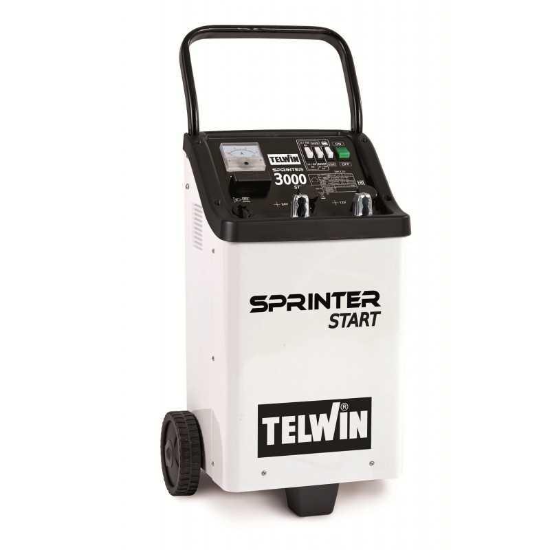 Arrancador y Cargador de Batería 12/24V 220V Telwin Sprinter 3000