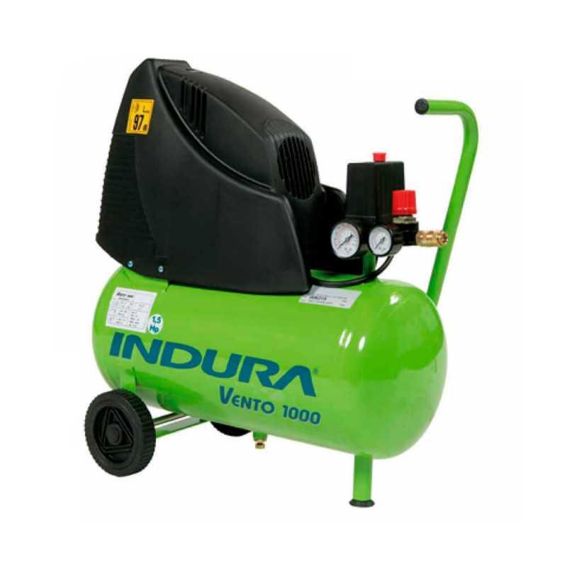 Compresor de aire 1.5 HP Indura Vento 1000