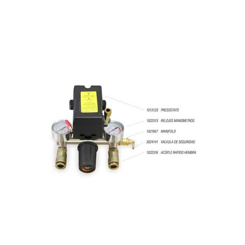 Compresor de aire 3 HP MyH Eagle 100
